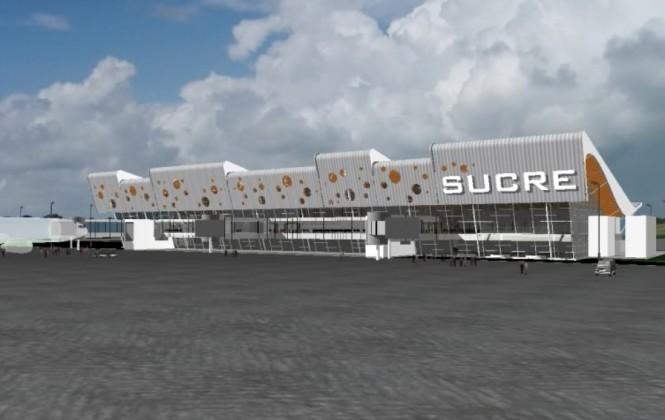 Gobierno garantiza entrega de nuevo aeropuerto para Sucre en 2014