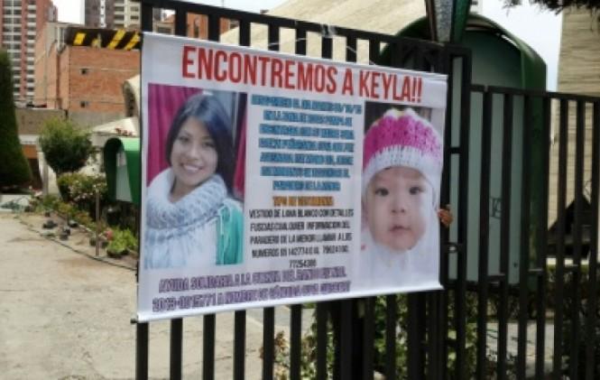 A ocho días del feminicidio de Evelyn Peñaranda, su bebé sigue desparecida