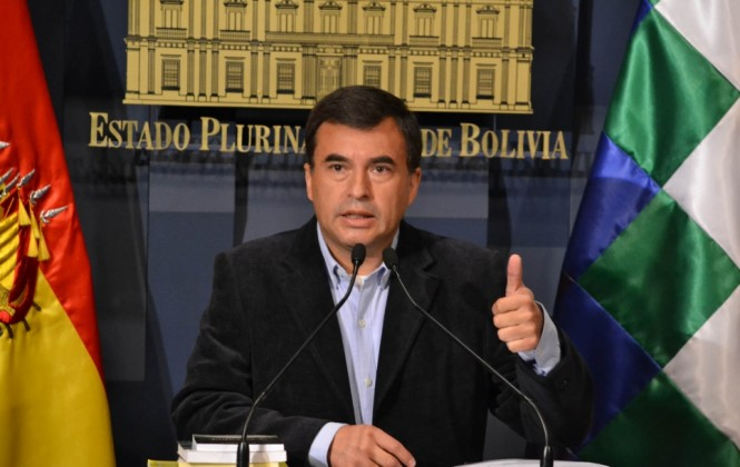Ministro Quintana acusa a Carlos Valverde de ser agente encubierto de la Embajada de EEUU