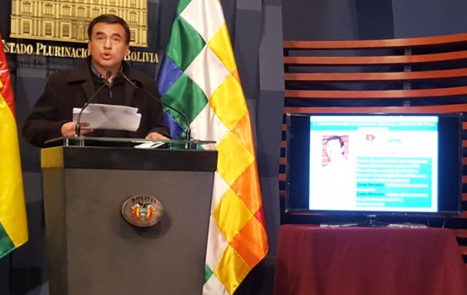 Ministro Quintana acusa de 4 delitos al senador Ortiz y lo denunciará a la Comisión de Ética