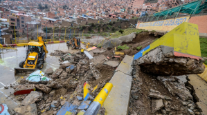 Colapsa muro alto Tacagua