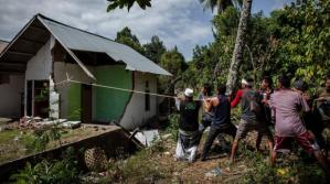 Nuevo terremoto sacude a la isla indonesia de Lombok