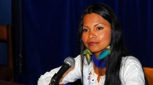 """Según indígena ecuatoriana, el """"vivir bien"""" sirvió para expropiar territorios en la Amazonía"""