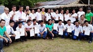 31 jóvenes líderes del TIMI se gradúan como facilitadores comunitarios