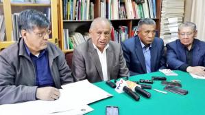Jubilados anuncian marcha desde Caracollo en demanda de doble aguinaldo