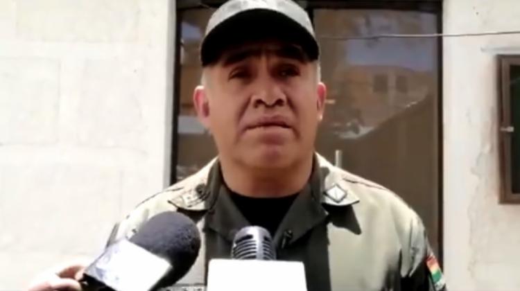 Comandante de Oruro