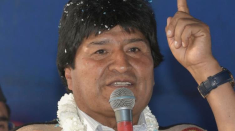 Gobierno anuncia de una orden de aprehensión contra Evo y le exige no provocar sedición