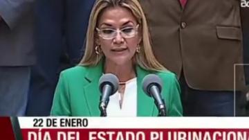 Presidenta de Bolivia confirma uso de recursos públicos para financiar a partidos políticos extranjeros en el gobierno de Evo