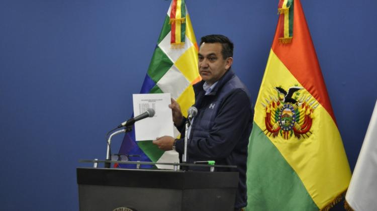 """Nuñez denuncia gastos millonarios en la UPRE, en gobierno de Morales, para obras de """"prebenda política""""."""