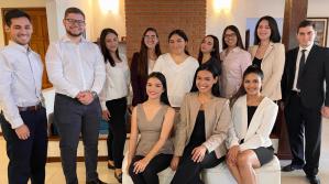 Estudiantes de Derecho de la UPSA ganan Mención en Moot de Madrid