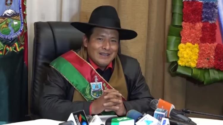 Santos Quispe Gobernador